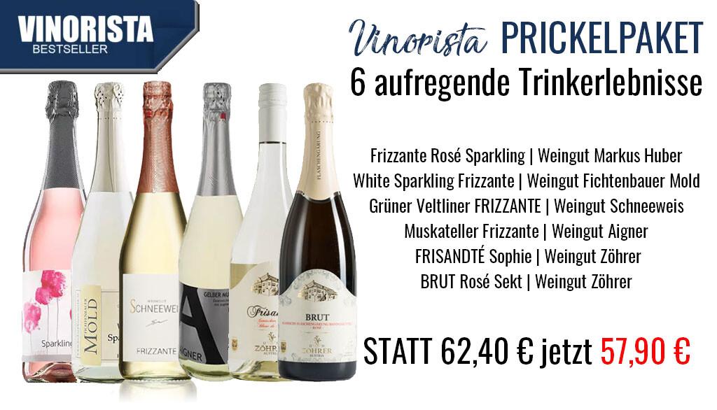 Vinorista Prickelpaket 2020