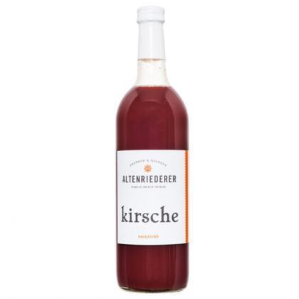 Kirschsaft Obsthof Weingut Altenriederer