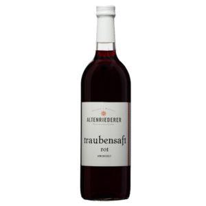 Traubensaft Rot Zweigelt Obsthof Weingut Altenriederer
