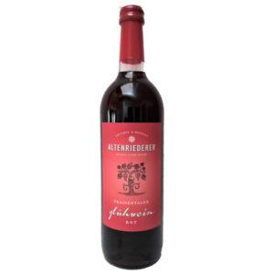 Glühwein Rot Weingut Altenriederer